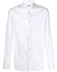 Camisa de manga larga blanca de Philipp Plein