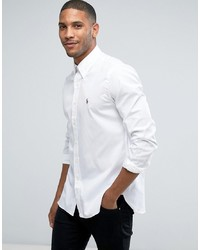 Camisa de Manga Larga Blanca de Polo Ralph Lauren