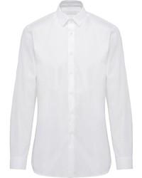 Camisa de manga larga blanca de Prada