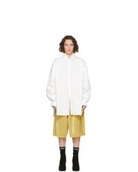 Camisa de manga larga blanca de Random Identities