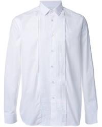 Camisa de Manga Larga Blanca de Saint Laurent