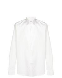 Camisa de manga larga blanca de Salvatore Ferragamo