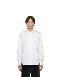 Camisa de manga larga blanca de Tibi
