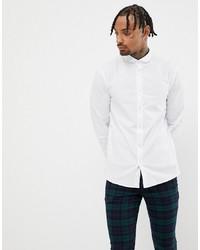 Camisa de manga larga blanca de Twisted Tailor