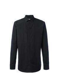 Camisa de Manga Larga Bordada Negra de Givenchy