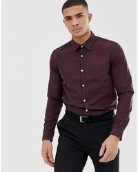 Camisa de manga larga burdeos de Pier One
