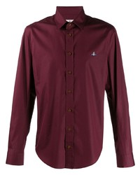 Camisa de manga larga burdeos de Vivienne Westwood