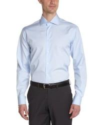 Camisa de manga larga celeste de Atelier Privé