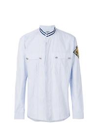 Camisa de manga larga celeste de Balmain