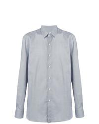 Camisa de manga larga celeste de Boglioli