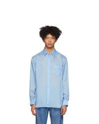 Camisa de manga larga celeste de Comme Des Garcons SHIRT
