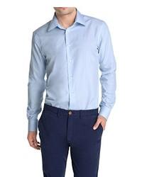 Camisa de manga larga celeste de Esprit