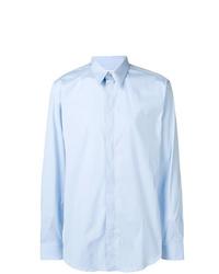 Camisa de manga larga celeste de Givenchy