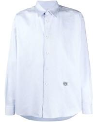 Camisa de manga larga celeste de Loewe