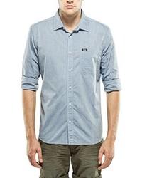 Camisa de manga larga celeste de Petrol Industries