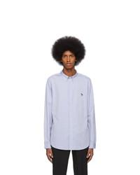 Camisa de manga larga celeste de Ps By Paul Smith
