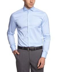 Camisa de manga larga celeste de Roy Robson