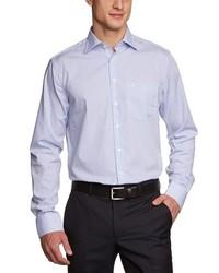 Camisa de manga larga celeste de Seidensticker