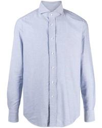 Camisa de manga larga celeste de Tagliatore