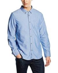 Camisa de manga larga celeste de Vans