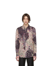Camisa de manga larga con print de flores en multicolor de DSQUARED2