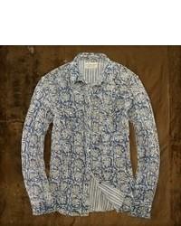 Camisa de manga larga con print de flores