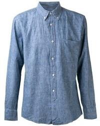Camisa de manga larga de cambray azul de Our Legacy