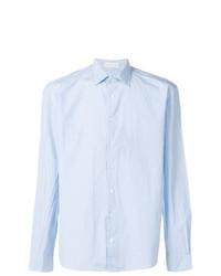 Camisa de manga larga de cuadro vichy celeste de Etro