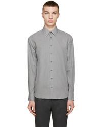 Camisa de manga larga de lana gris de Tiger of Sweden