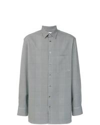 Camisa de manga larga de pata de gallo gris de Études