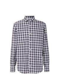 Camisa de manga larga de tartán en multicolor de Eleventy
