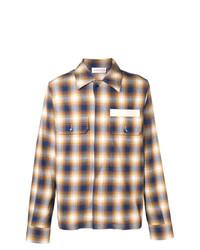 Camisa de manga larga de tartán en multicolor de Faith Connexion