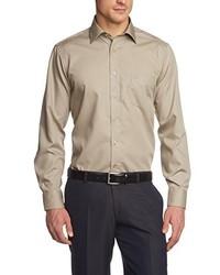 Camisa de manga larga en beige de Casamoda