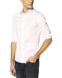 Camisa de manga larga en beige de Celio