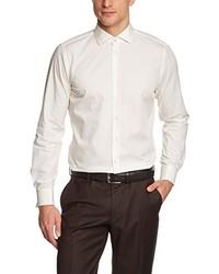 Camisa de manga larga en beige de Strellson Premium
