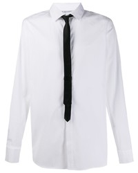 Camisa de manga larga en blanco y negro de Neil Barrett