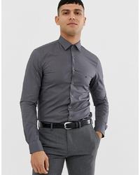 Camisa de manga larga en gris oscuro de Calvin Klein