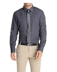 Camisa de manga larga en gris oscuro de Esprit
