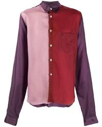 Camisa de manga larga en multicolor de Comme Des Garcons Homme Plus