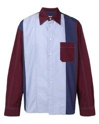 Camisa de manga larga en multicolor de Marni