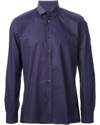 Camisa de manga larga en violeta de Lanvin