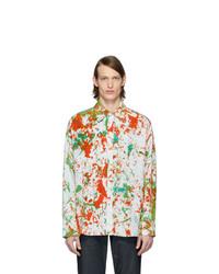 Camisa de manga larga estampada en multicolor de S.R. STUDIO. LA. CA.