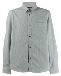 Camisa de manga larga gris de A.P.C.