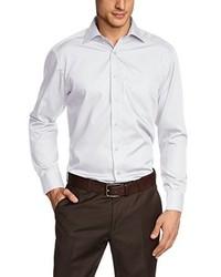 Camisa de manga larga gris de Casamoda