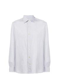 Camisa de manga larga gris de Kiton