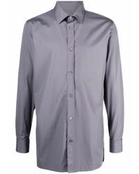 Camisa de manga larga gris de Maison Margiela