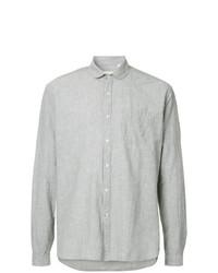 Camisa de manga larga gris de Oliver Spencer