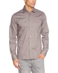 Camisa de manga larga gris de Signum