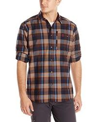 Camisa de manga larga marrón de Fjallraven