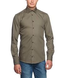 Camisa de manga larga marrón de Venti